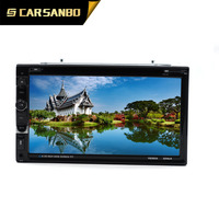 TY6065 6.95 inch 2 din car DVD player with digital touch screen