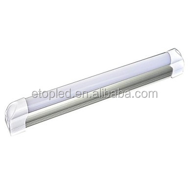 white 1.2m 1600lm 18w integrated high lumen 4ft t8 led tube light