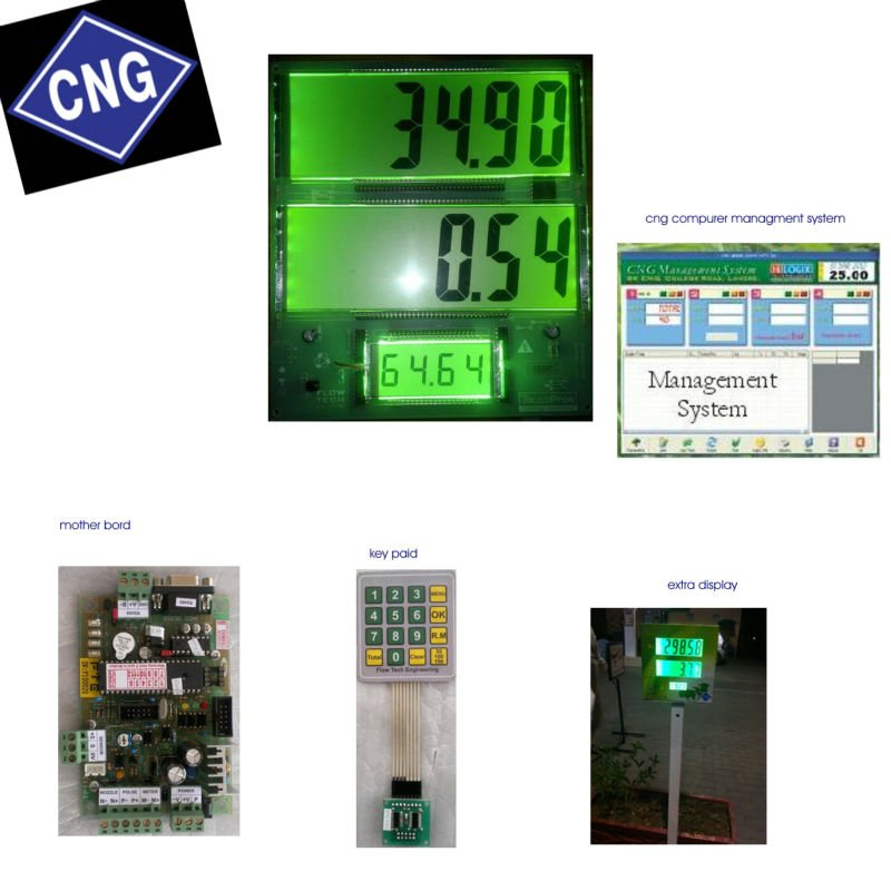 CNG Dispenser Computer Control System