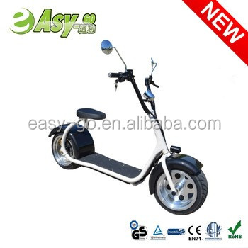 Newest popular Harley style fashion 800w/1000w full size electric motorcycle for adults citycoco electric scooter