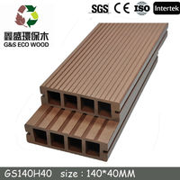 wpc composite decking prices outdoor in China / wpc decking Manufacturer