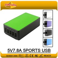5V8A Desktop USB Charger