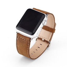 Hot selling smart watch band for apple leather watch band