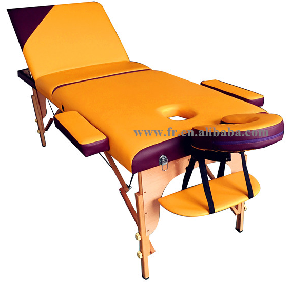Commercial Furniture General Use wooden massage table and Salon Furniture Type massage bed lightweight portable massage tables