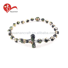 Chinese craft religious alloy rosaries bracelet