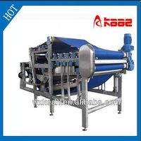 Pineapple squeezer belt press machine manufactured in Wuxi Kaae