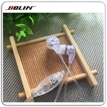 earphones factory promotion wire earbuds Gifts retractable earphones with mic