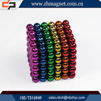 neodymium puzzle magnetic ball toy 216pcs