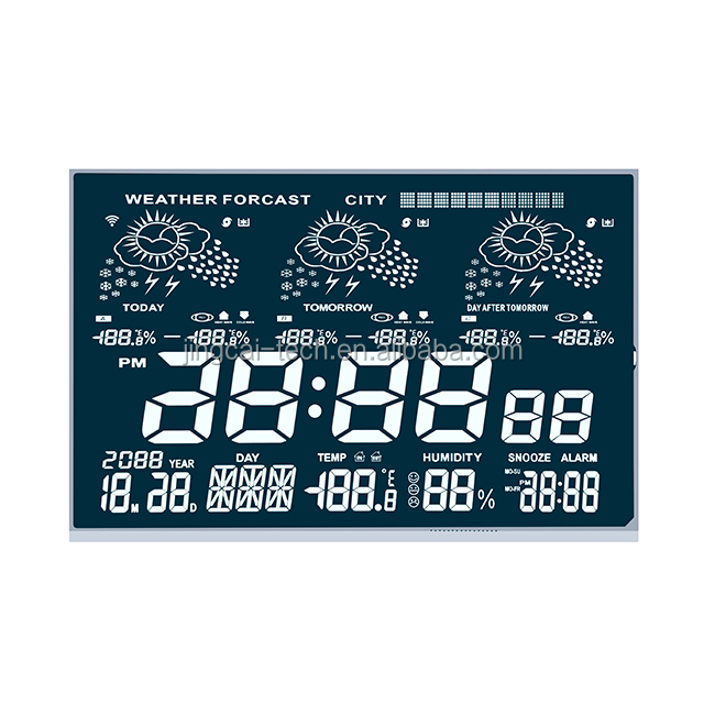 OEM LCD display module 2 in screen for Electronic Permanent Calendar