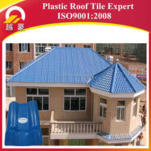 Chinese factories plastic building tile,fire resistance spanish synthetic resin roof tile/roof shingle