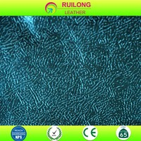 Wholesale shiny pvc leather fabric for interior decoration