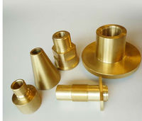 Ottone di precisione tornitura copper cnc machinery parts