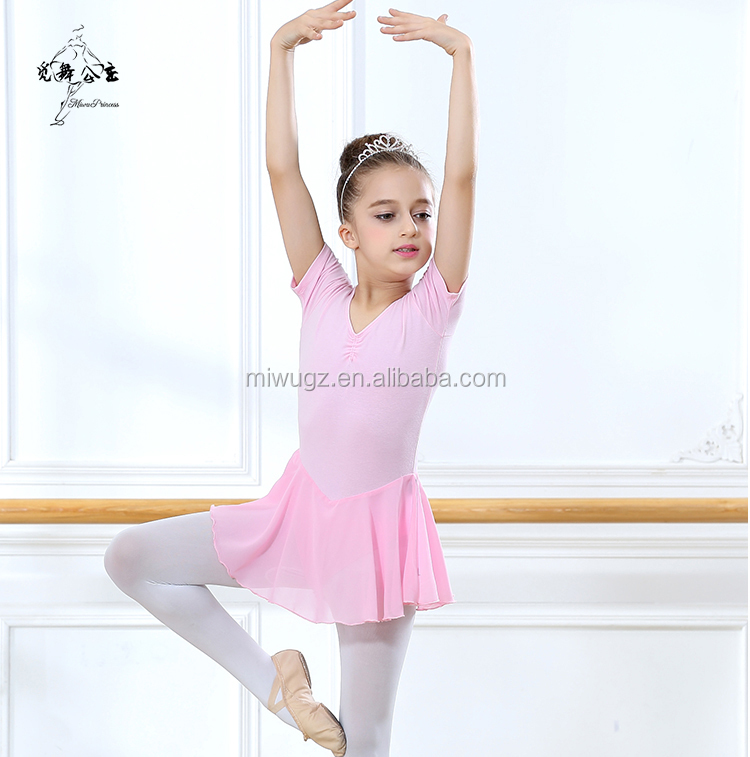Mordern Girls Ballroom Ballet Dance Dress Leotard