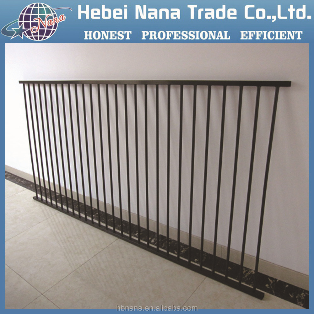 Decorative flower garden fencing iron bar fence iron fence for garden