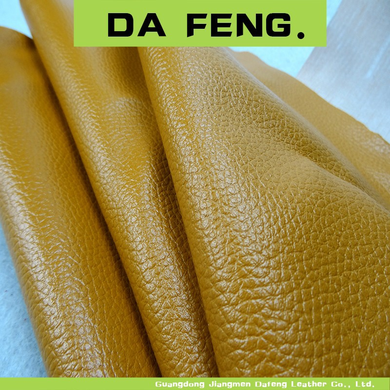 hot cheap pu bag and shoes leather stock products