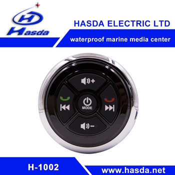 Round design and Skillful manufacture Waterproof marine playe easy to use audio