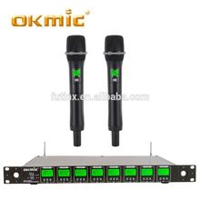 Top sell bluetooth wireless microphone for walkie talkie micro karaoke q10s