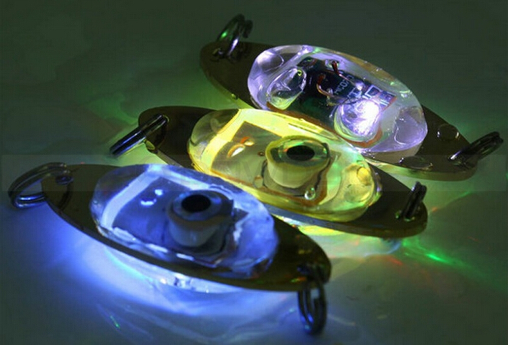 Underwater LED Eye Shape Fishing Lights For Attracting Fishes