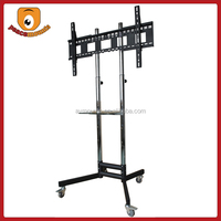 ST1800 Silver movealbe free standing Factory Selling modern plasma tv stand