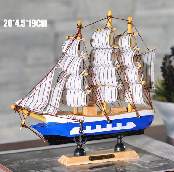 Best selling handmade promotional home decoration le soleil royal wooden model ship