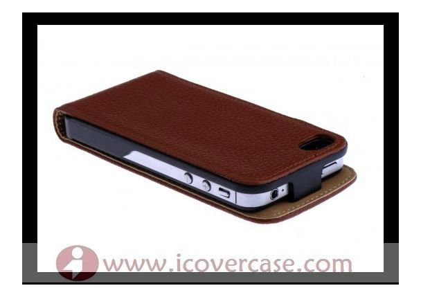Real cowskin leather cover skin case for iphone 4 s,for iphone4 case