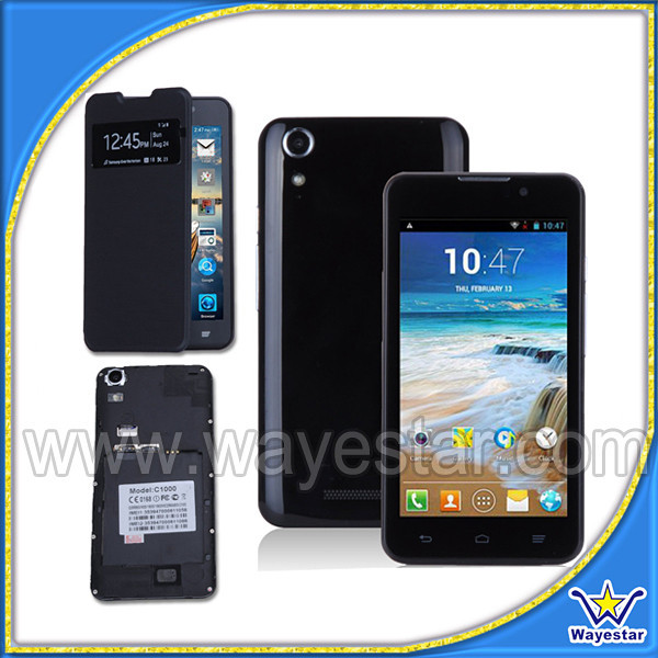 5'' Low cost china android mobile phone high quality smartphone