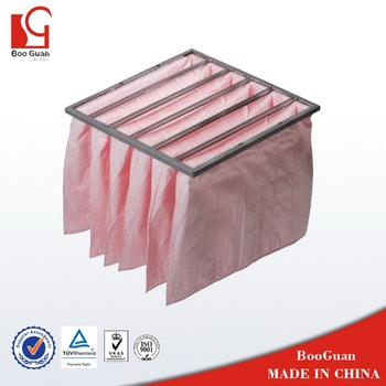 Good quality top sell middle efficient pocket filter supplier