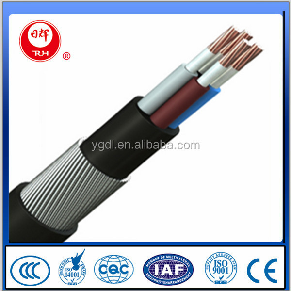 Copper Conductor XLPE Insulated PVC Sheathed Electrical Cable