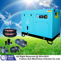China mobile screw air compressor for tyre