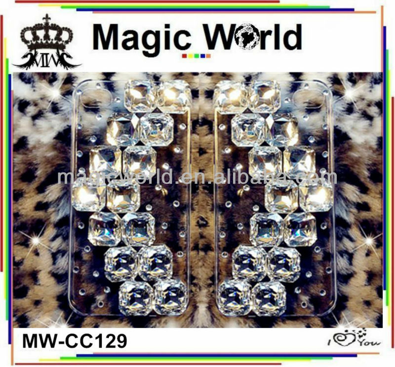CC129 Crystal Bling Cell Phone Case For LG G4