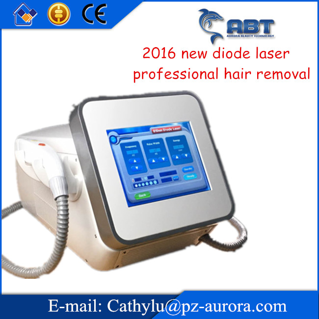 2016 New arrival ! Strong semi conductor cooling laser diode hair removal, professional diode laser hair reduction