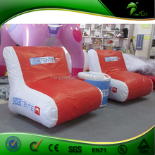 Hot Sale Mini Advertising Inflatable Sofa, PVC Inflatable Sofa Balloon For Advertising Furniture