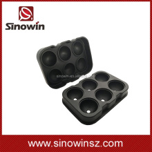 2016 Hot Sale 1 Pcs 6 Balls Dots Ice Cube Tray Ice-making Box Molds For Bar Party Kitchen Tools
