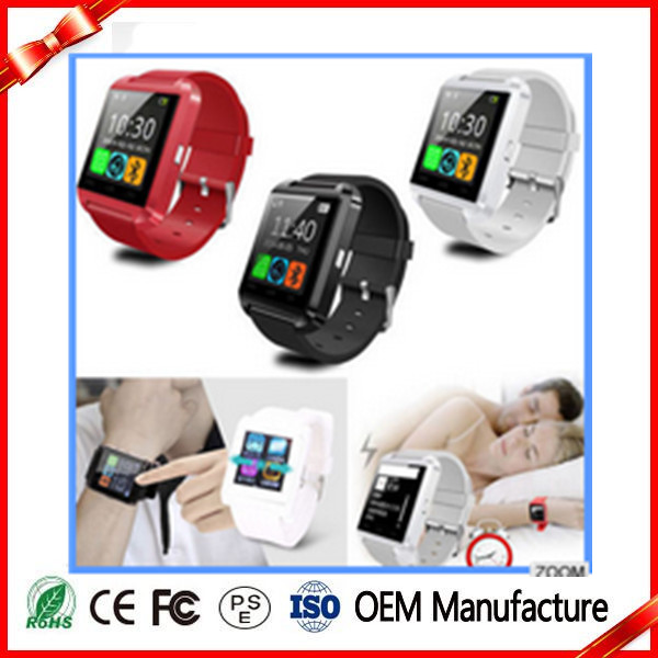 2016 china manufacturer Android Touch Screen TFT LCD Bluetooth U8 Smart Watch