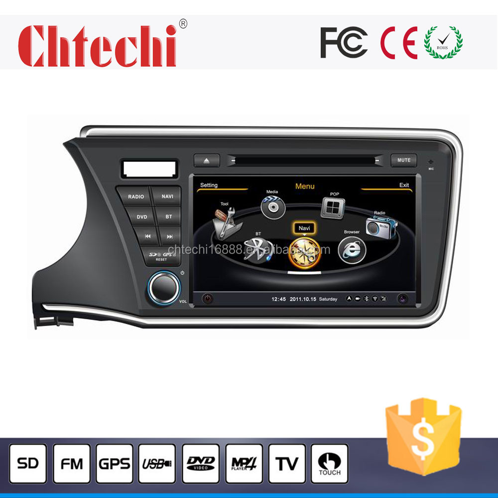 special car dvd player / car radio for City 2014 with GPS