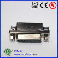 VGA connector r/a for board male 15 pin