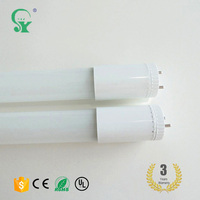 Top quality Pure White fluorescent 19W AC85V-265V t8 led tube light price