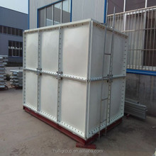Square 10000 litres SMC FRP GRP storage tank for fish water