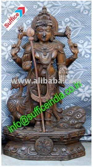 Religious wooden handicrafts