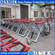 Sinmec convenient home used hydraulic scissor car lift