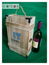 3 bottle cheap new design custom excellent wood gift boxes for wine bottles for 2 bottle