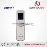 2014 hotel card door lock,the most affordable hotel door lock (DH-8014Y)