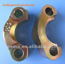 SAE split flange clamps for hydraulic pipe flange