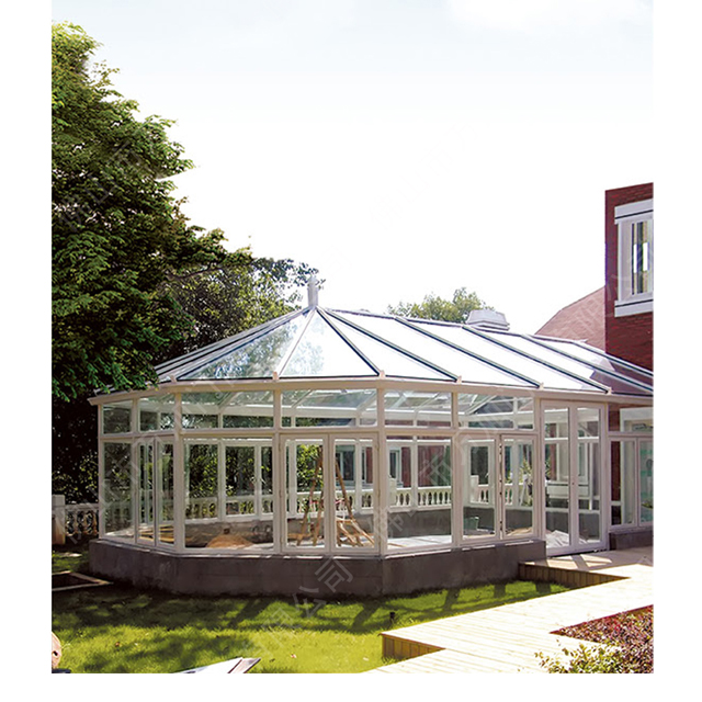 Best Quality Aluminium Frame Glass House