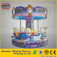 Beautiful Candy Carousel Theme Park Amusement Rides For Sell