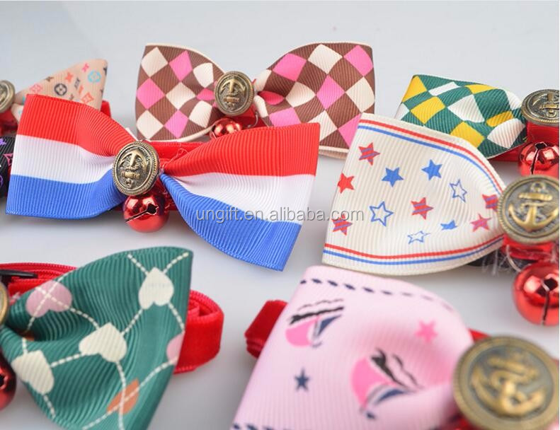 Christmas Holiday Dog Bow Ties Cute Neckties Collar Pet Puppy Dog Cat Ties Accessories Grooming