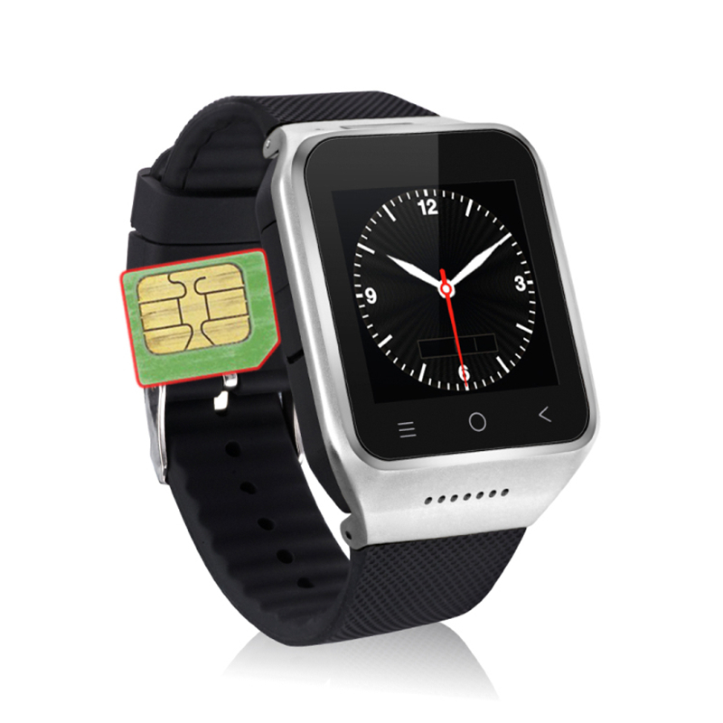 ZGPAX S8 Smartphone BT Smart Watch Android 4.4 MTK6572 Dual Core GPS 2.0MP Camera WCDMA WiFi MP3 MP4 Smartwatch PK Q18 U8