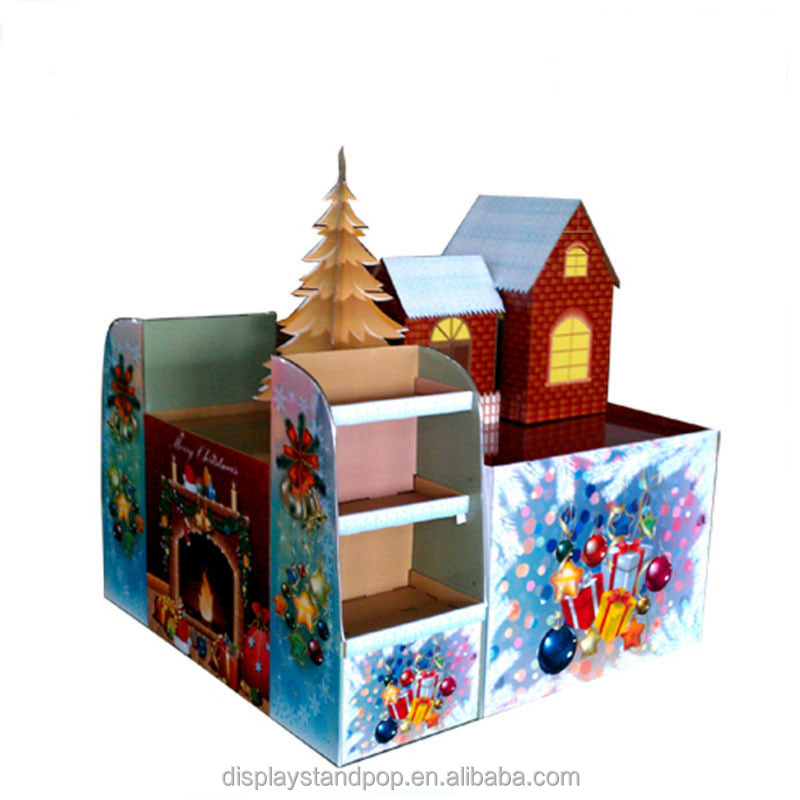 large pallet display units for festival gifts pop cardboard display stands