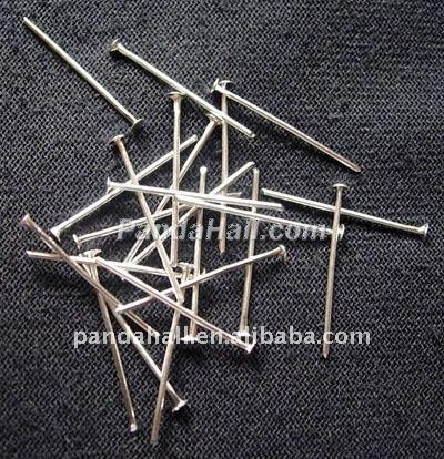 Silver-color Metal Big Jewelery Head Pins(HPS2.0cm)