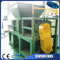 plastic recycling shredder machine with high quality blades